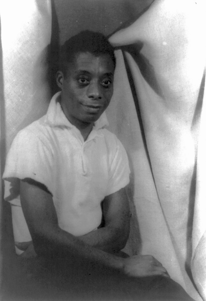 James Baldwin during the 1950s.