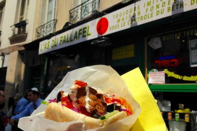 L'As du Fallafel claims to be the best in Paris-- and I find that it's earned these bragging rights.