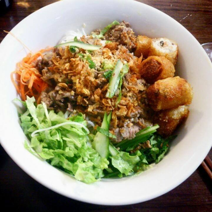 A dish from Pho 19, a popular Vietnamese eatery in Belleville, Paris. Official Facebook page