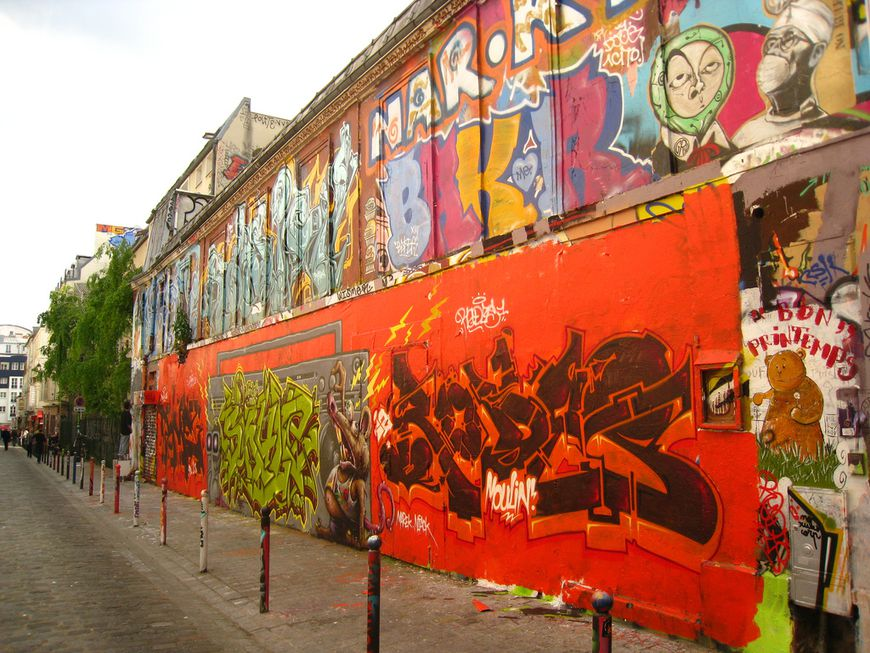 Local street art is one of the bigger draw cards for tourists in Belleville.