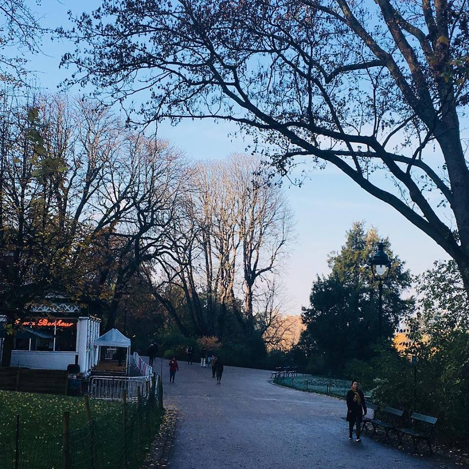 The Buttes-Chaumont Park isn't technically in Belleville, but it's not far away. Image: Courtney Traub/All rights reserved