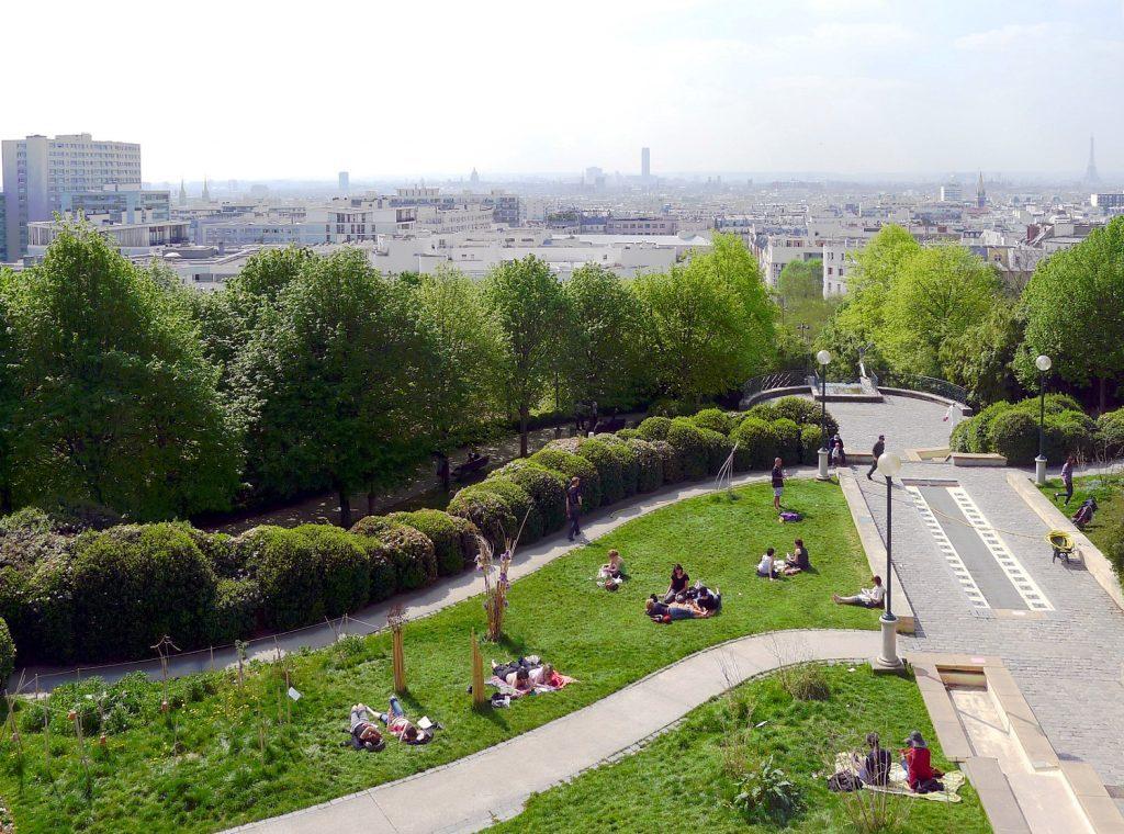 Parc de Belleville/Wikimedia Commons