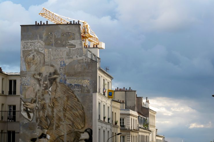 Paris' Belleville neighborhood is rich with street art, working-class and revolutionary history.