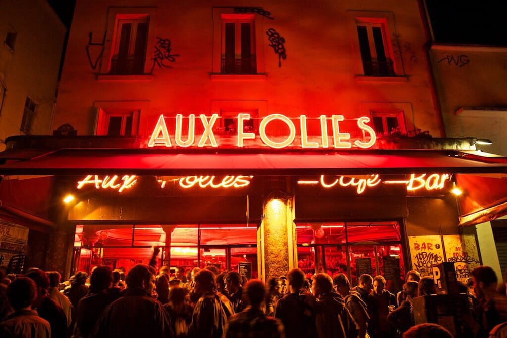 Aux Folies is at the center of Belleville nightlife.