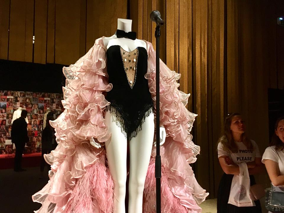 "A costume displayed at the recent ""Dalida"" exhibit at the Palais Galliera in Paris. Image credit: Courtney Traub"