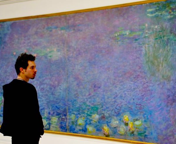 Monet's Nympheas series: a tribute to world peace at the Orangerie in Paris. Image credit: Adrian Scottow/Some rights reserved under the Creative Commons license.