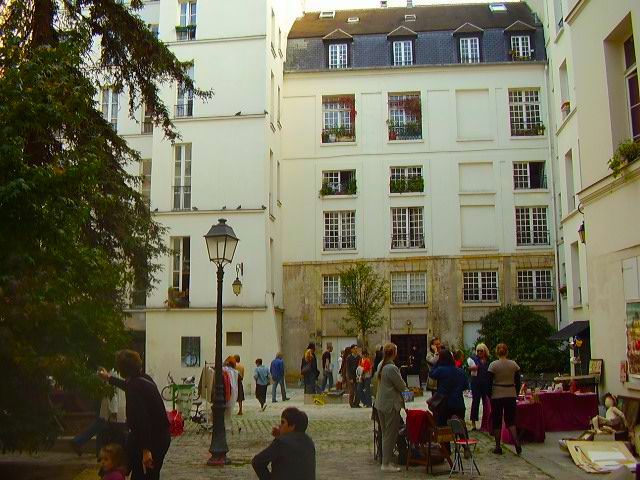 Even touristy areas of Paris-- such as the Marais-- reserve quiet passageways and deep history.