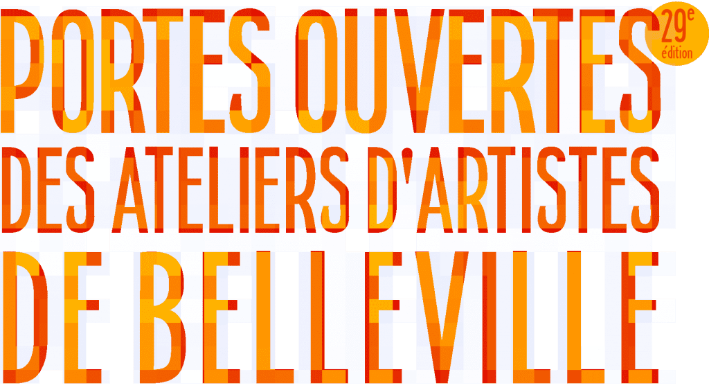 The Belleville Artists' Studios Open House Days are a coveted May event in Paris.