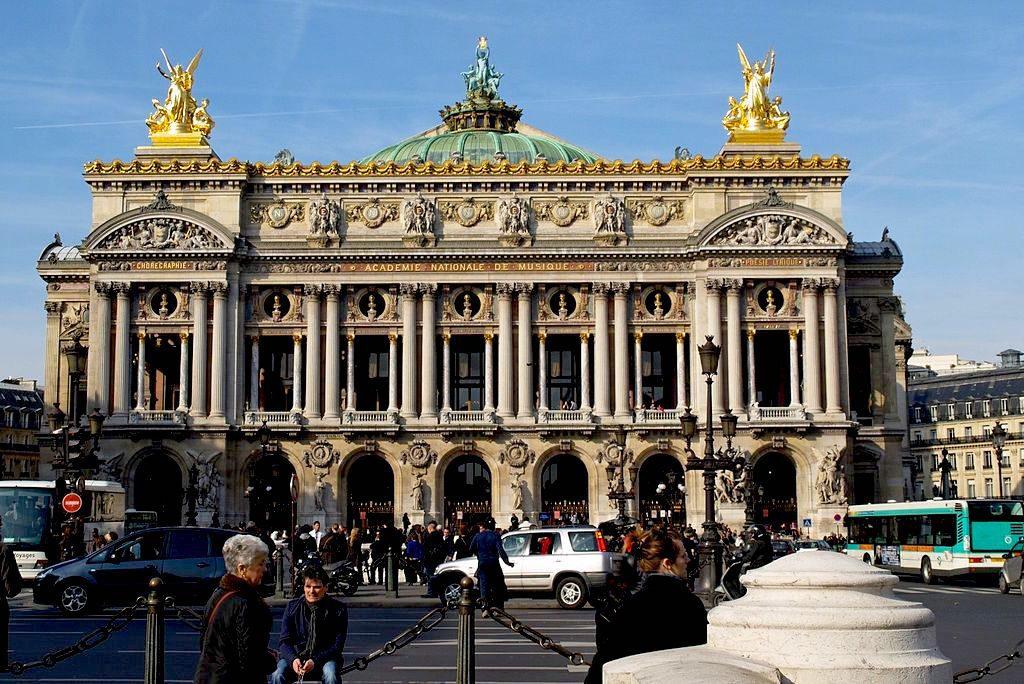 The Palais Opera Garnier in Paris is a stunning example of Haussmann-era architecture. Wikimedia Commons