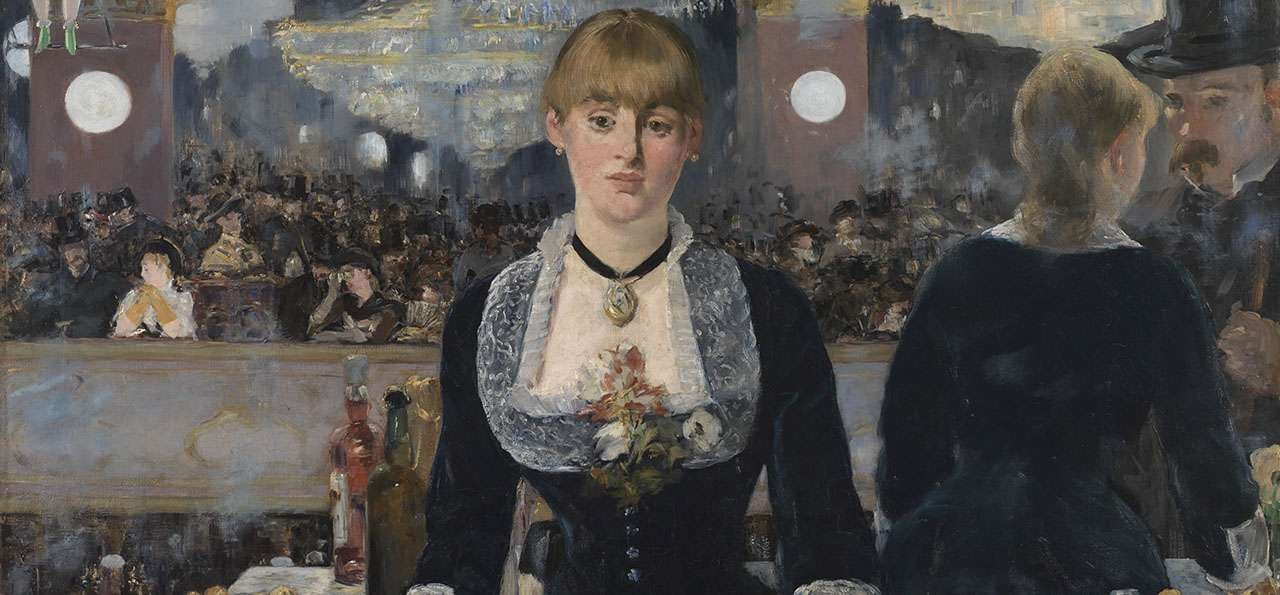 Edouard Manet. Bar aux Folies-Bergère, 1882. Huile sur toile 96 x 130 cm. The Samuel Courtauld Trust, The Courtauld Gallery, London