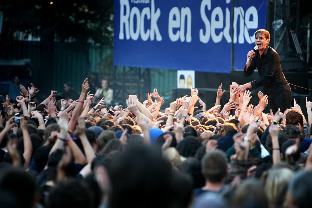 A concert at Rock en Seine, a three-day rock festival just outside Paris in August. Image: Creative Commons 2.0