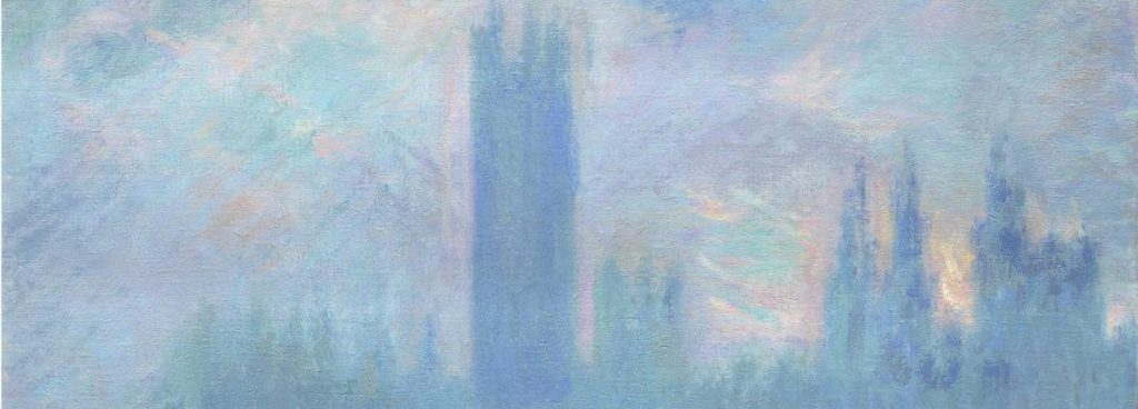 Claude Monet, Houses of Parliament Series (London), around 1904.