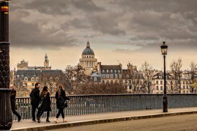 Paris in September is crisp and invigorating.