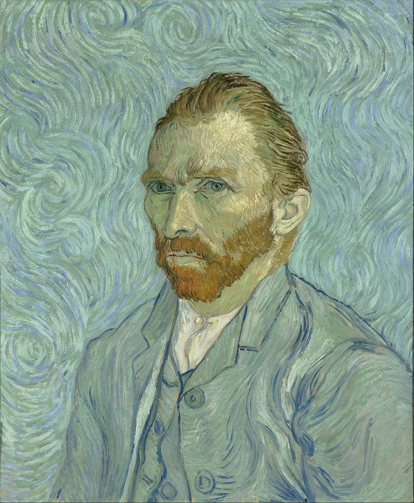Vincent Van Gogh, Self-Portrait, circa 1889.