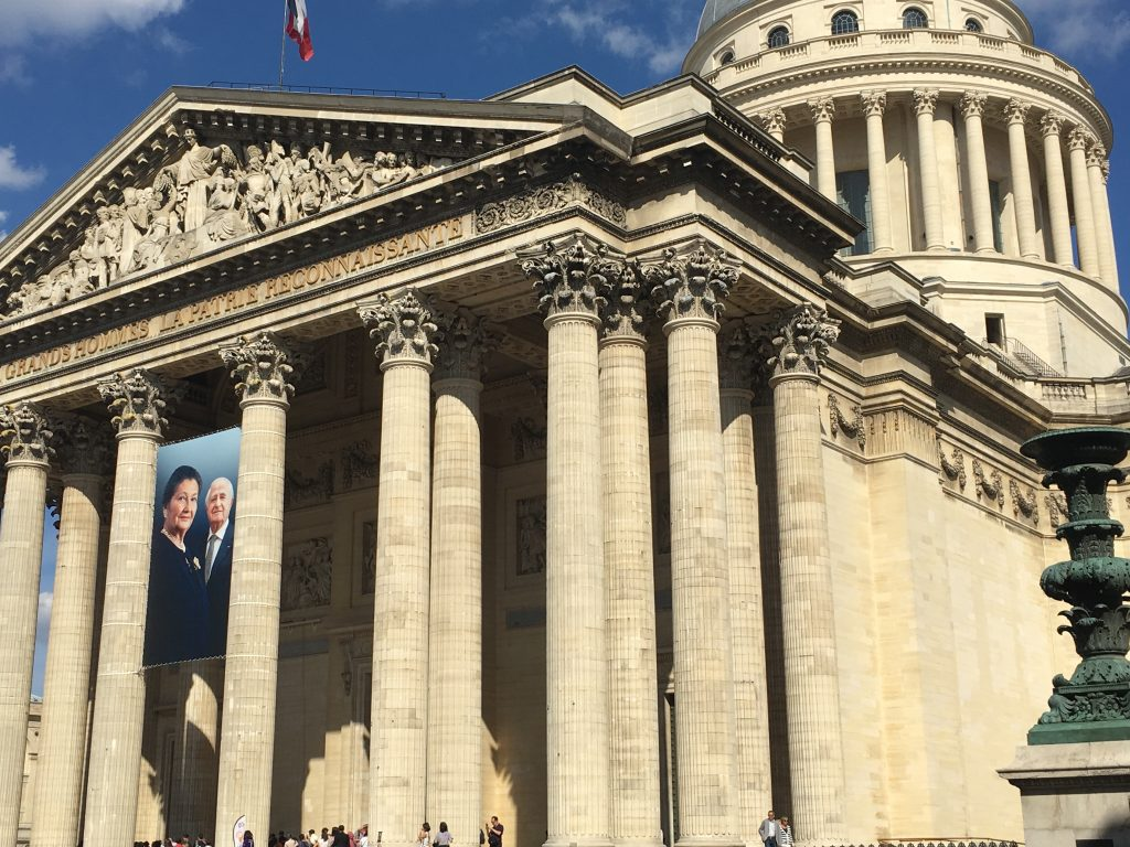 "Looming over the Latin Quarter, the Pantheon is a mausoleum celebrating the ""great men"" (sadly, few women are recognized here) of France. Image: Courtney Traub/All rights reserved"