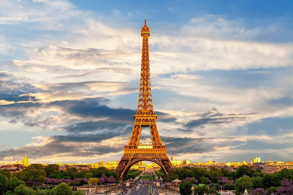 The Eiffel Tower is now an indelible part of the Parisian skyline.