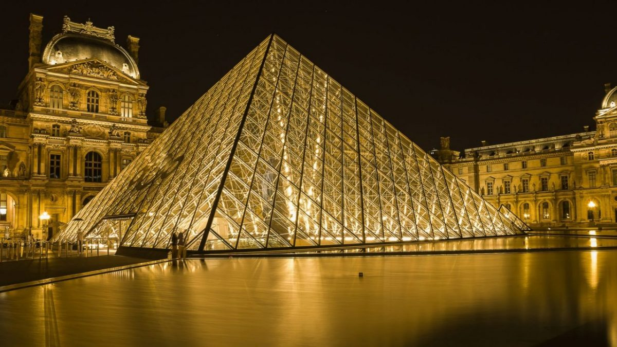 The Louvre museum in Paris: one of the very best things to see in Paris for first-timers.