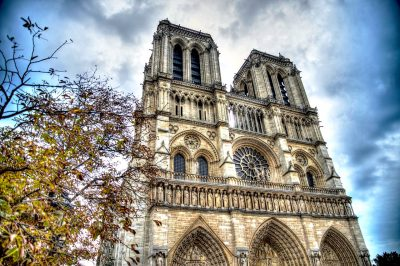 It would take centuries to complete the stunning Notre-Dame Cathedral in Paris.