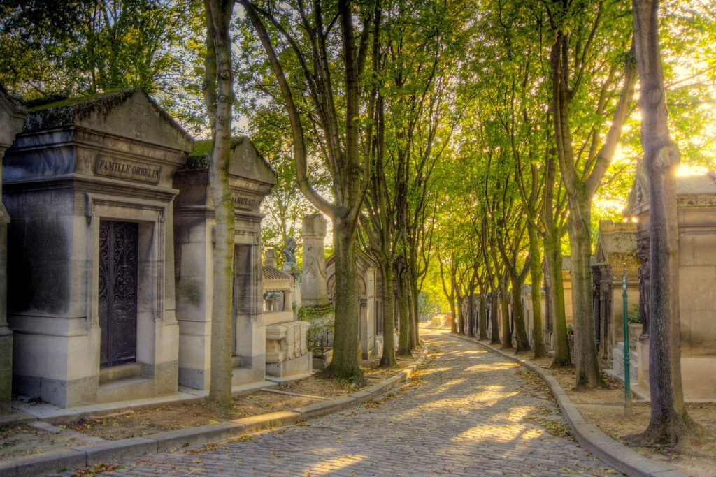Père-Lachaise Cemetery is simply lovely. Image: Till Krech/Creative Commons