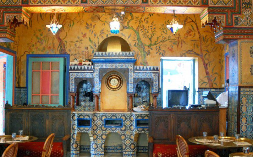 Traditional mint tea at the Mosquée de Paris can be wonderfully refreshing.