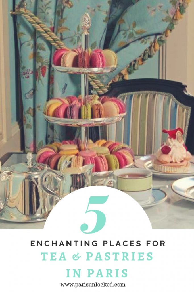 where to find excellent teas in Paris- Pinterest pin