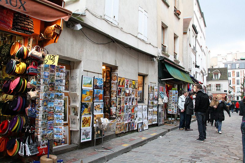 Leave souvenir shopping in Paris for the end of your trip-- or for the airport duty free shops.