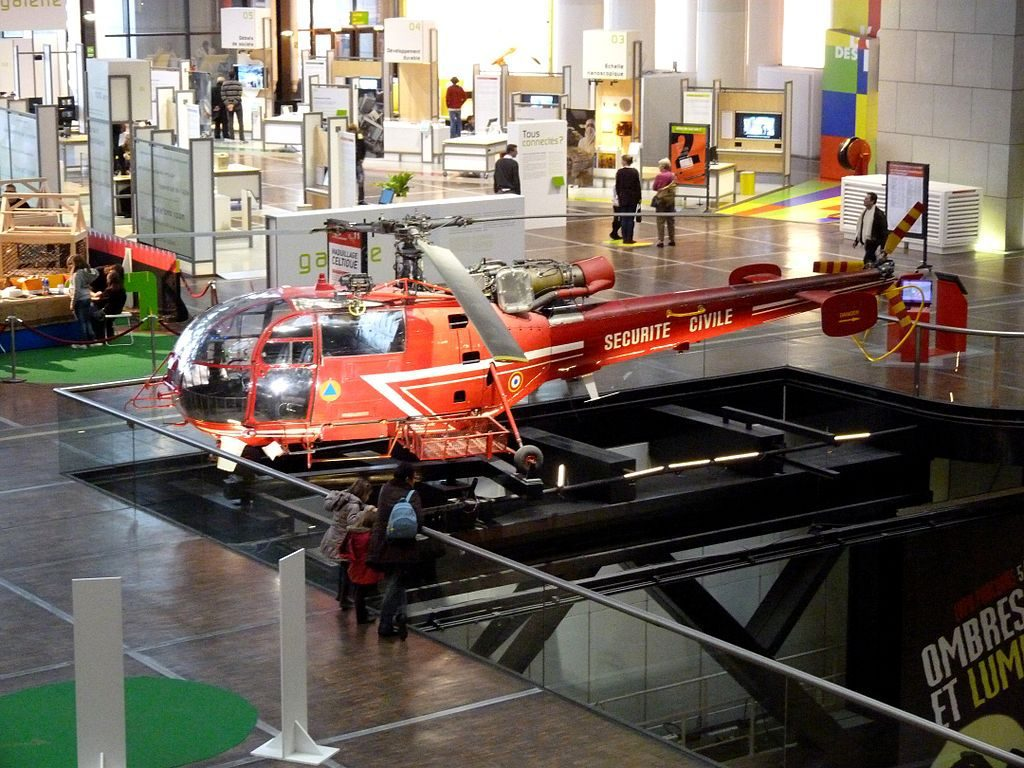 A display at the Cité des Sciences in Paris: fascinating for both kids and adults. Wikimedia Commons