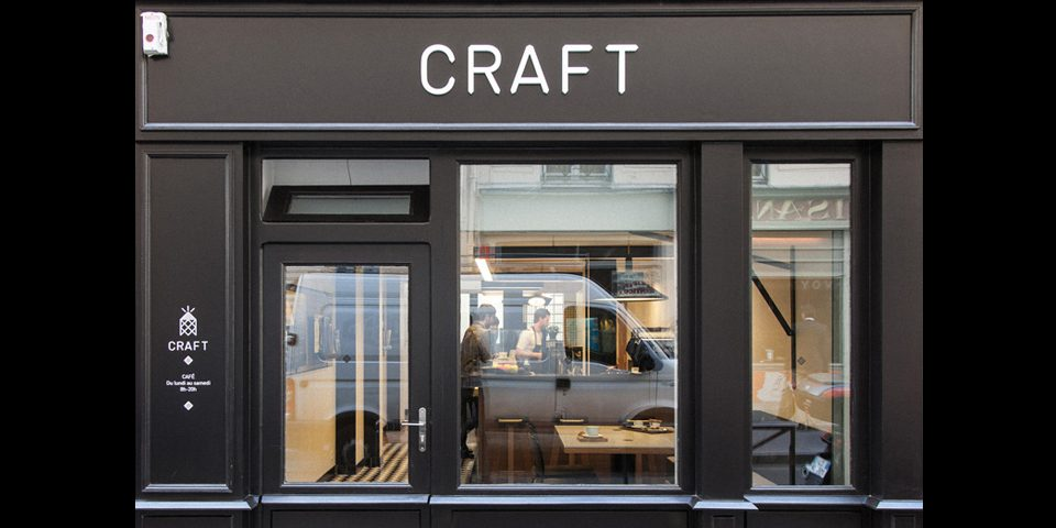 Craft Café in Paris