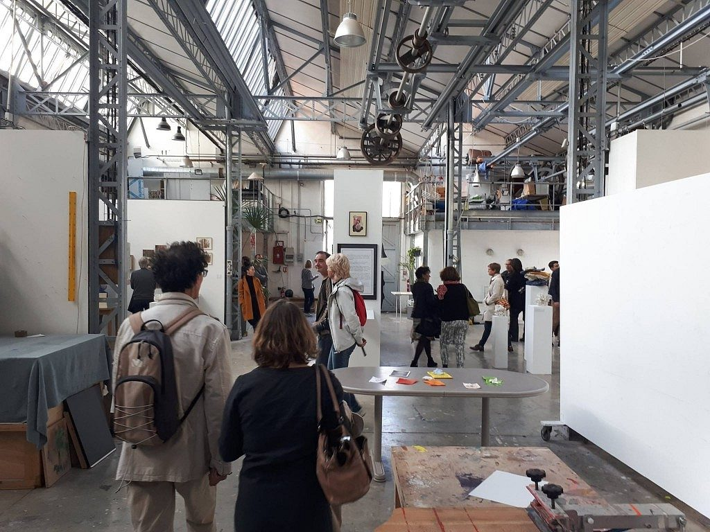 Belleville artists' studios open days (Ateliers Portes Ouvertes) in Paris run in late May for four consecutive days.