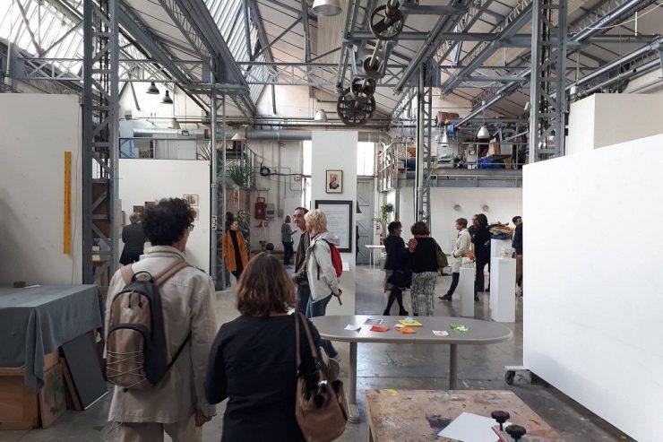 Belleville artists' studios open house days/ Ateliers d'artistes de Belleville Portes Ouvertes