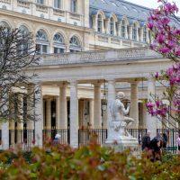 Palais Royal in springtime, Paris. Julien Maury/Creative Commons