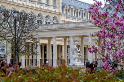 Palais Royal in springtime, Paris. Julien Maury/Creative Commons
