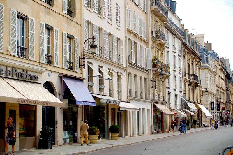 Rue du Faubourg Saint-Honoré, Paris
