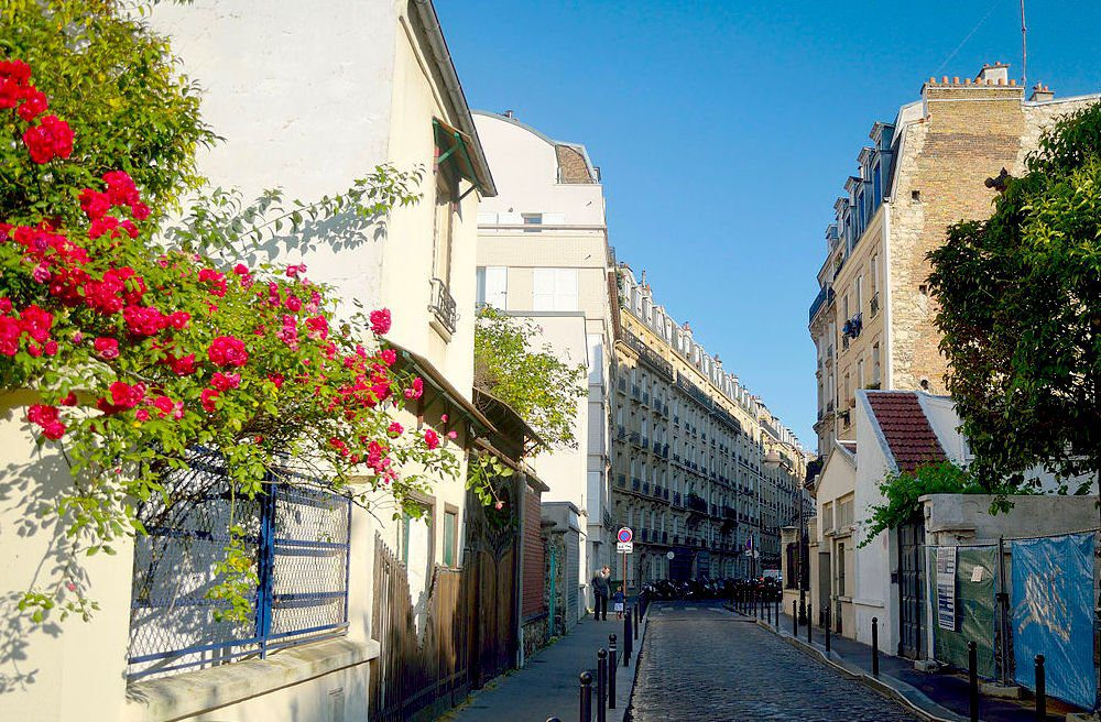 Rue Boyer, a quiet street between Gambetta and Ménilmontant that harbors a lively indie music scene. Tom Hilton/Creative Commons 2.0