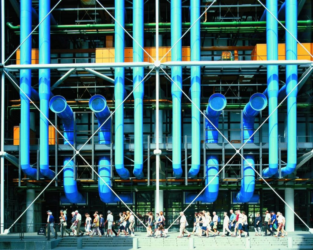 Centre Pompidou architecture