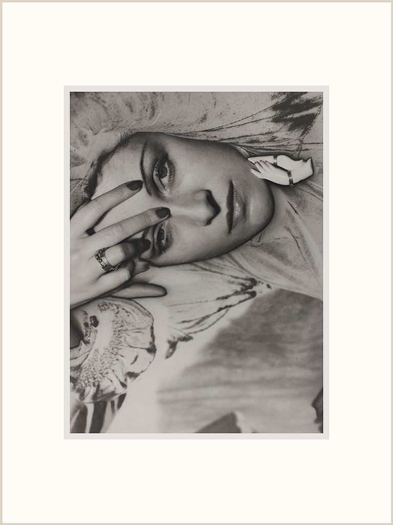 Man Ray, portrait of Dora Maar, 1936, Reproduction. Centre Georges Pompidou.
