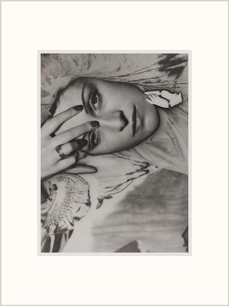 Man Ray, portrait of Dora Maar, 1936, Reproduction. Centre Georges Pompidou.
