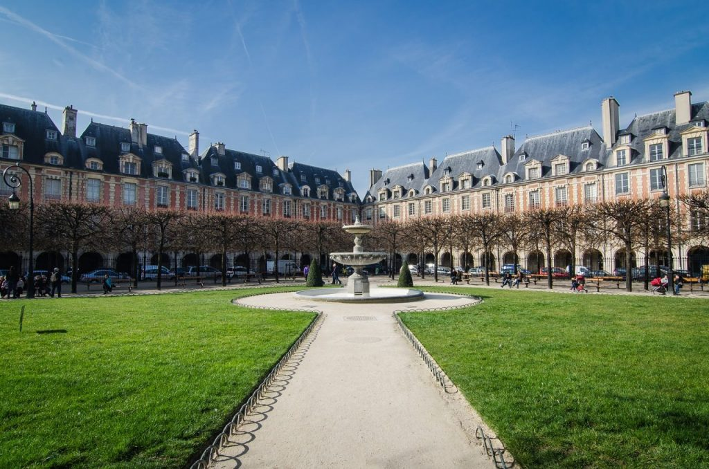 What do do around the Centre Pompidou? A stroll through the Marais and the Place des Vosges is one idea.