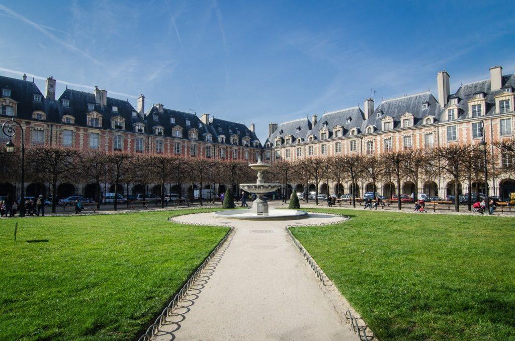 What do do around the Centre Pompidou? A stroll through the Marais and the Place des Vosges is one idea.