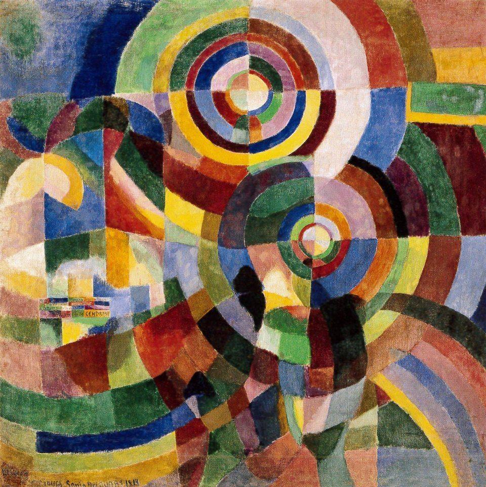 Sonia Delaunay, Prismes Electriques, 1914.