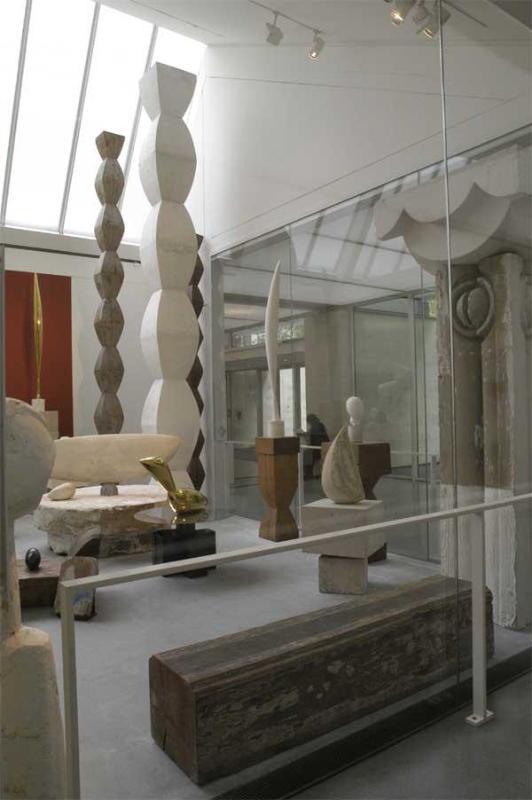 Atelier Brancusi at the Centre Georges Pompidou.
