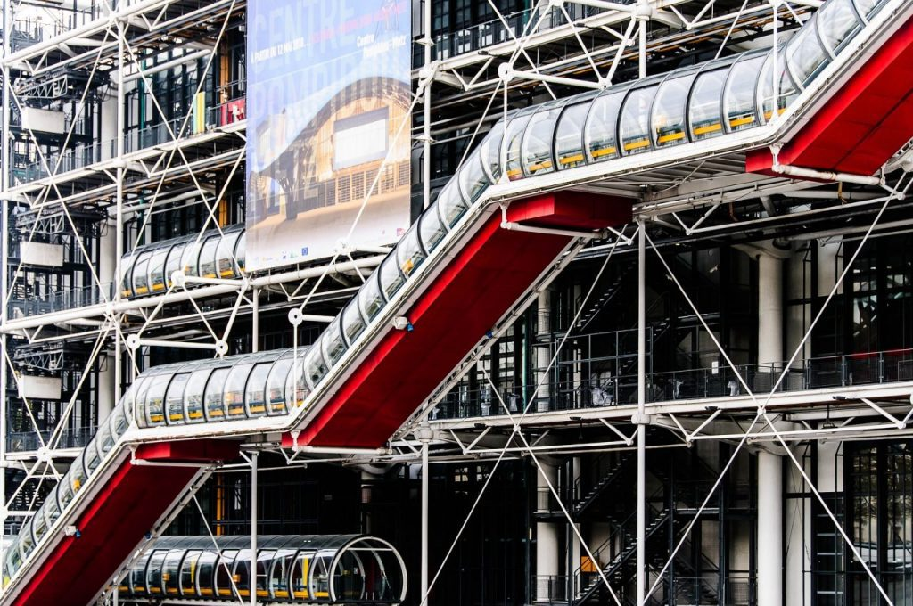 Centre Georges Pompidou by Renzo Piano and Richard Rogers, Paris