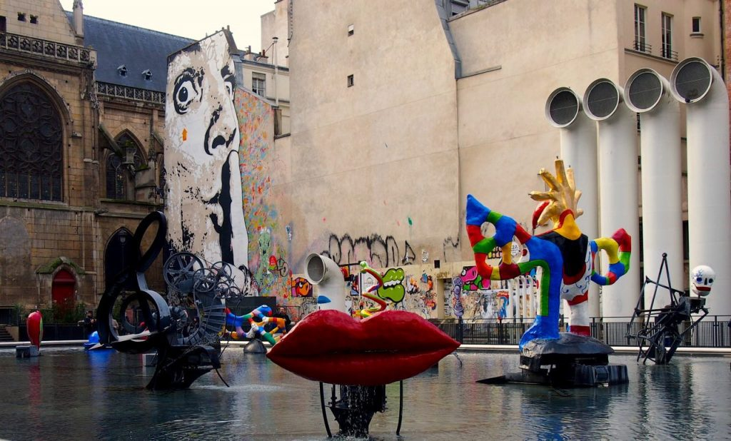Stravinsky Fountain, Niki de Saint Phalle and Jean Tinguely, Paris. Image credit: Lucie/1200 Zurich Fountains