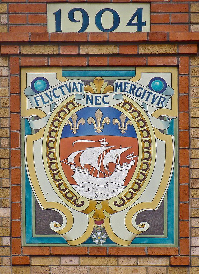 "Paris' code of arms reads ""Fluctuat nec Mergitur""in Latin. But what does it mean?"